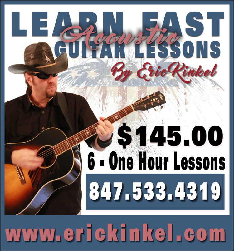 Learn Fast Acoustic Guiutar Lessons By Eric Kinkel, Catherine Lucchesi