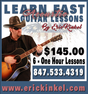 Eric Kinkel Learn Fast Acoustic Guitar Lessons, Catherine Lucchesi
