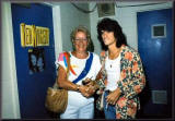 Marioin Dorothy Nugent and Joe Perry of Areosmith