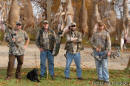 Deer friends- Mitch Patterson, Ted Nugent, Eric Kinkel, Ross Martin.