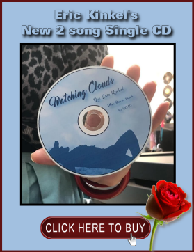 Eric Kinkel 2 song single CD - Watching Clouds, Catherine Lucchesi Glen Ellyn IL, Sue Gustafson Vernon Hills IL, Robyn Bigford Ozelis Wheaton IL, Cathy Kasia Betka
