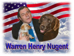 Ted Nugents father - Ted Nugents Dad -  Warren Henry Nugent - Dec. 17th - July 31st 1993